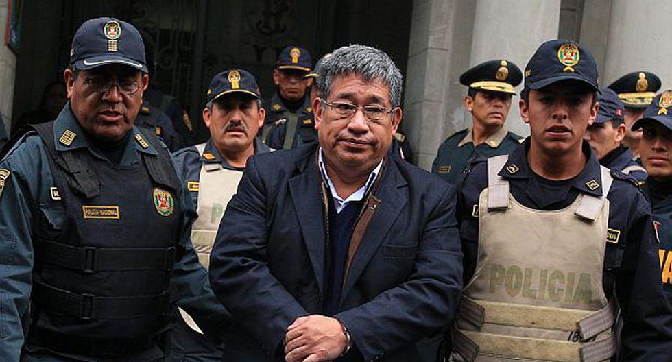 Narcoindultos: MP pide 17 años de cárcel para Facundo Chinguel