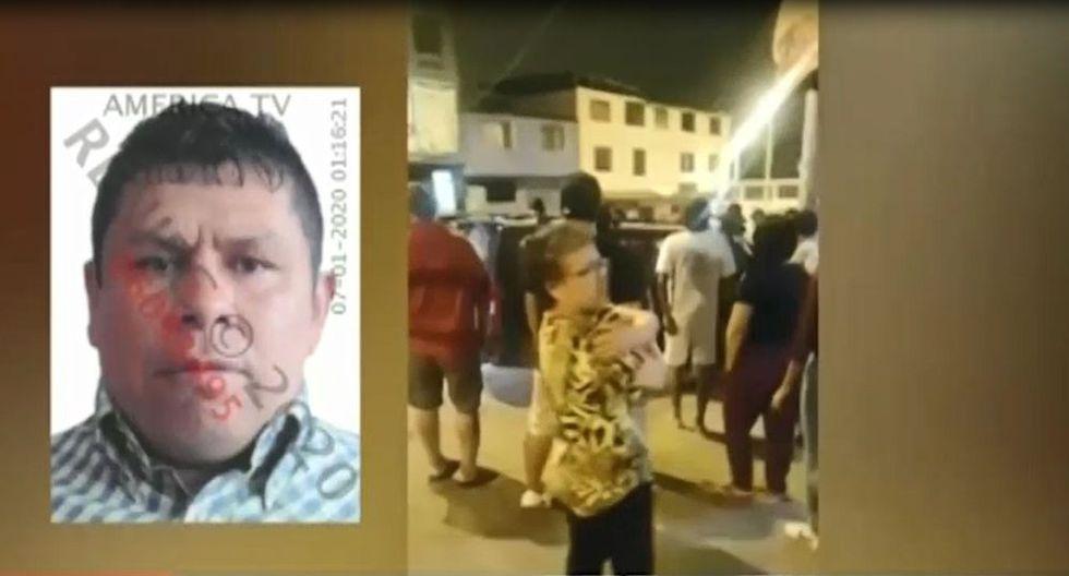 El ataque ocurrió en el cruce de las avenidas 3 de Octubre y Revolución, en Villa El Salvador. (Captura: América Noticias)
