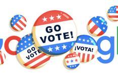 Google lanza doodle como recordatorio de las elecciones en Estados Unidos