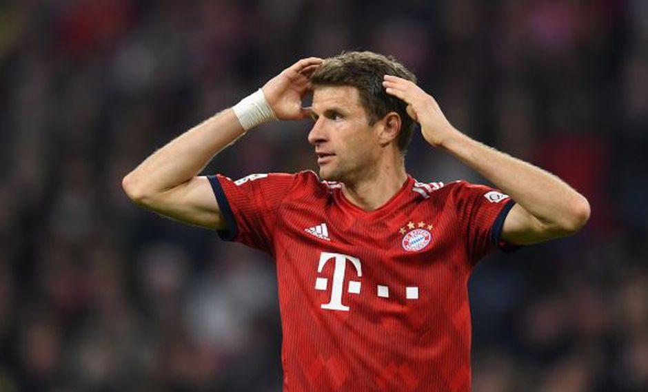 Müller también utilizó su cuenta en Twitter para lamentar sus declaraciones tras el duelo entre Bayern Múnich y Fortuna Düsseldorf por la Bundesliga. (Foto: AFP)
