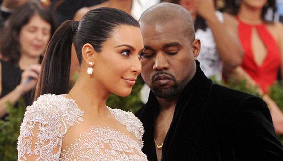 Kim Kardashian y Kanye West formaban una de las relaciones más mediáticas del mundo del entretenimiento. (Foto: AP)