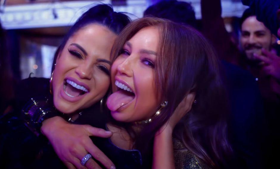 """Natti Natasha y Thalía en el video de """"No me acuerdo"""""""