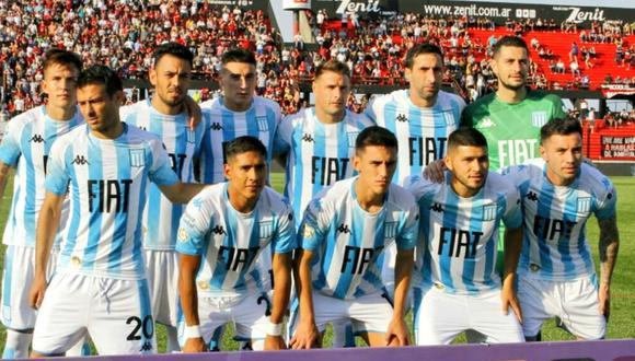 Racing Club empató 1-1 frente a Patronato por la Superliga Argentina | Foto: Racing
