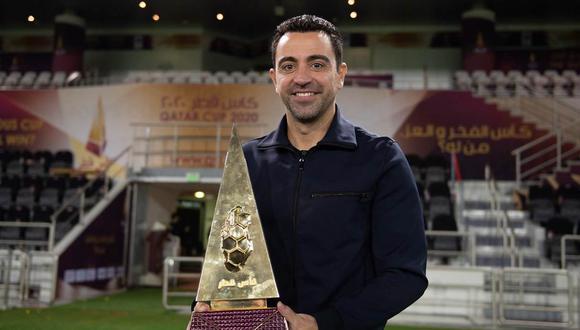 Xavi Hernández se quedará en Al Sadd por toda la temporada 2020-21. (Foto: @AlsaddSC)