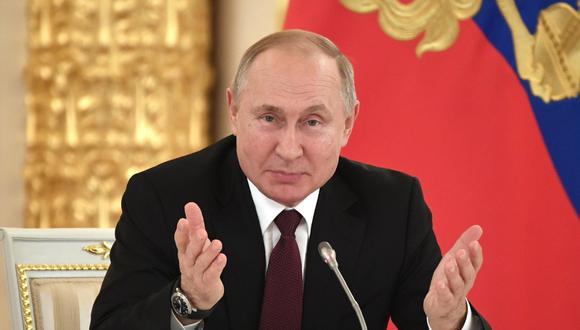 El líder ruso Vladimir Putin ha subido el tono en sus comentarios contra Polonia últimamente. (EFE/EPA/ALEXANDER NEMENOV).