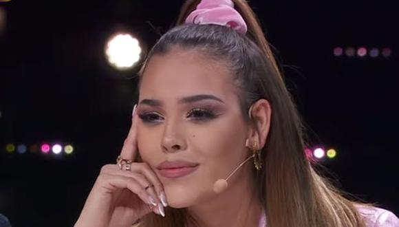"""Danna Paola se animó a hablar en el programa """"Al volante"""", del Escorpión Dorado, sobre el incidente que tuvo en el reality """"La Academia""""."""