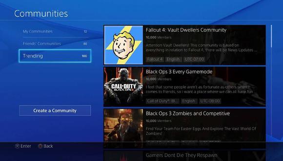 PlayStation cerrará sus Comunidades y desde abril no permitirá acceder en PS4. (Difusión)