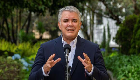 El presidente de Colombia Iván Duque. (Foto: EFE).