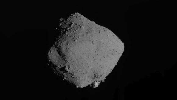 Representación del asteroide Ryugu. Handout / various sources / AFP)