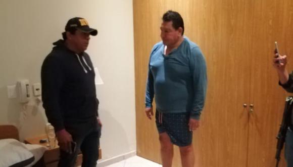 Félix Moreno tiene dos sentencias de cinco años de prisión efectiva y se encontraba prófugo desde enero. (Foto: PNP)