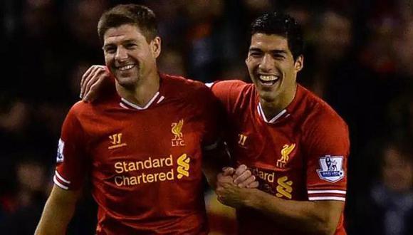 Twitter: Luis Suárez dedicó sentimental tuit a Steven Gerrard