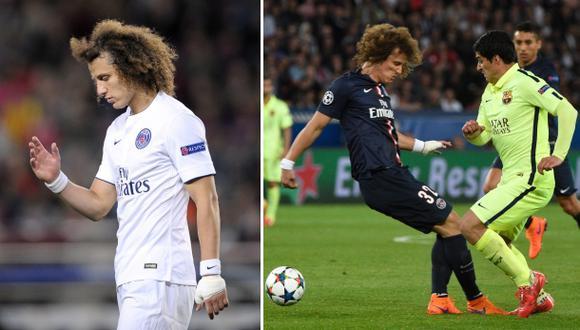 David Luiz habló sobre las 'huachas' que le hizo Luis Suárez