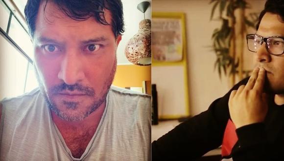 Gustavo Cerrón falleció a los 48 años de edad a consecuencia del COVID-19.  (Fotos: Gustavo Cerrón / Facebook oficial del actor)