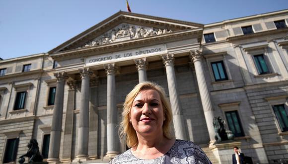 Inés Madrigal, ahora de 49 años, ha logrado llevar al doctor Vela ante los tribunales españoles. Cuenta que con 18 años se enteró de que era adoptada, en una conversación con su madre. (Reuters)
