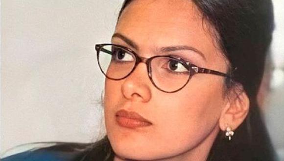 Sandra Patiño formaba parte del 'Cuartel de las feas'. Ella era esbelta y alta, pero su estatura daba miedo a los hombres (Foto: RCN)