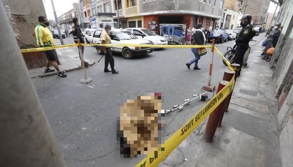 Según el informe periodístico, Chávez Miranda habría estado hostigando a un grupo de obreros antes de ser ultimado. (Foto: PNP)