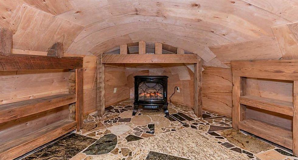 Para los lugares más acogedores e íntimo de la casa se ha utilizado madera reciclada. Esto con el fin de ofrecer esa calidez que algunas personas buscan. ((www.har.com)