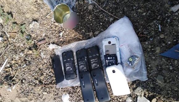 Las autoridades presumen que estos objetos habrían sido lanzados desde los exteriores del penal (Foto: INPE)
