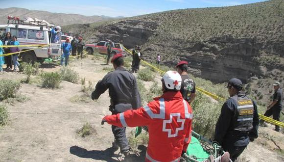 Cajamarca: dos mujeres murieron tras caída de auto a un abismo