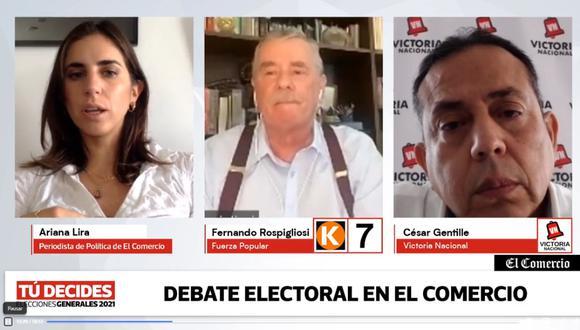 #TúDecides El Comercio tuvo su segundo debate técnico