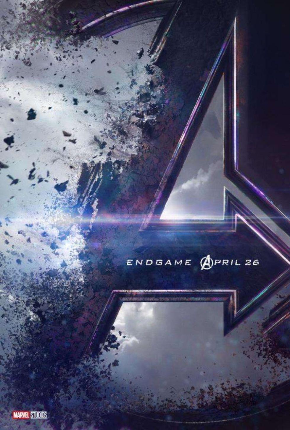 Este es el primer póster oficial de Avengers: Endgame (Foto: Marvel)