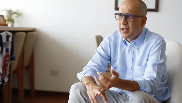 Pablo Secada -sentenciado por desobediencia a la autoridad por insultar a una suboficial de la Policía y denunciado por violencia familiar-era el cabeza de la lista del PPC al Parlamento en Lima. (Foto: Giancarlo Ávila / El Comercio)