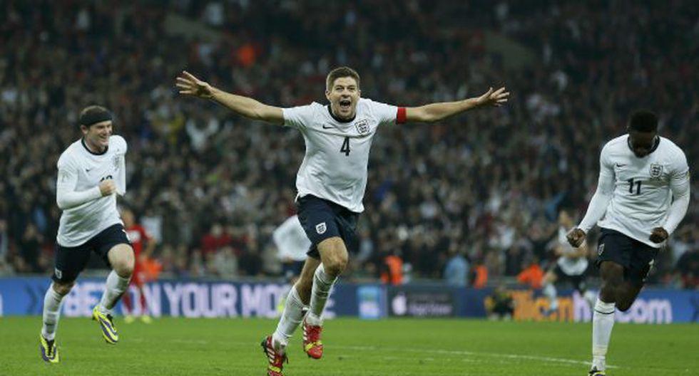 Inglaterra dio a conocer a sus 23 convocados para Brasil 2014