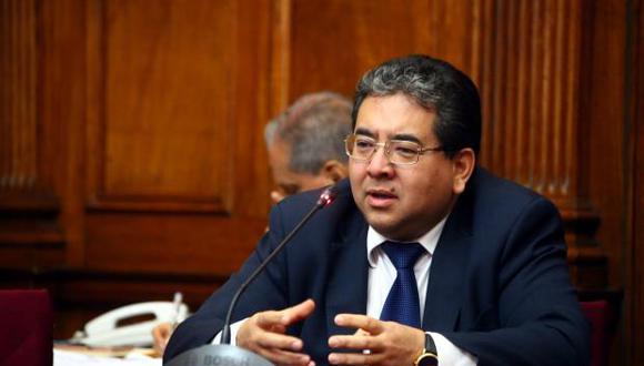 Nelson Shack recordó que Édgar Alarcón es objeto de investigaciones en el Ministerio Público. (Foto: Congreso)