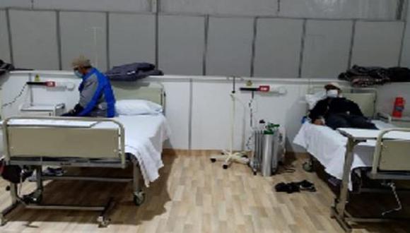 Áncash: primeros pacientes con coronavirus son atendidos en hospital temporal de Huaraz (Foto referencial).