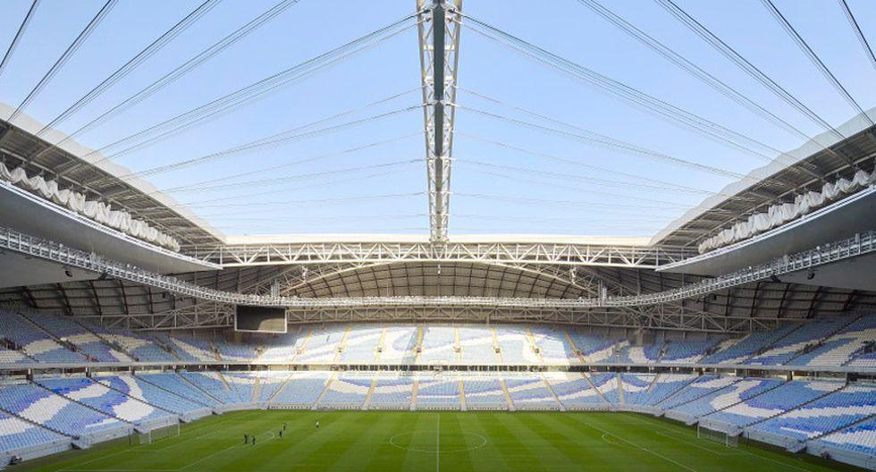El estadio, conectado a la nueva red de metro recién inaugurada en el país, contará con wifi gratis para los espectadores. (Foto: Difusión)