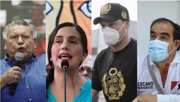"""""""Enfrentamos no solo la crisis económica y sanitaria, sino las destructivas bombas que traen los candidatos en sus mochilas"""". (Fotos: GEC)."""