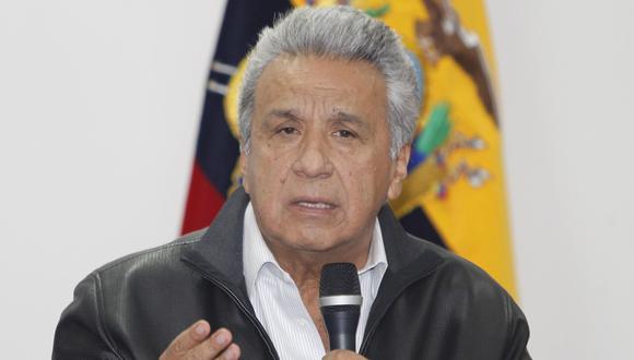 El presidente Lenín Moreno derogará el decreto 883 que dio origen a las protestas en Ecuador. (EFE).