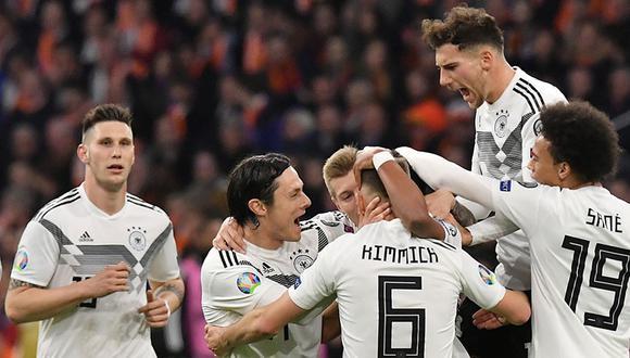 Alemania logró un triunfo importante en su debut en las clasificatorias rumbo a la Eurocopa 2020.