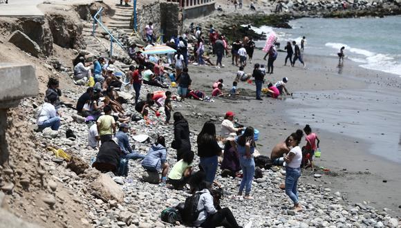 La ministra señala que hay algunas playas que están abiertas al público y otras, como Punta Sal, a la que solo pueden ingresar las personas que se hospedan en determinados hoteles, los cuales controlan el aforo. (Foto: archivo/ Jesus Saucedo / @photo.gec)