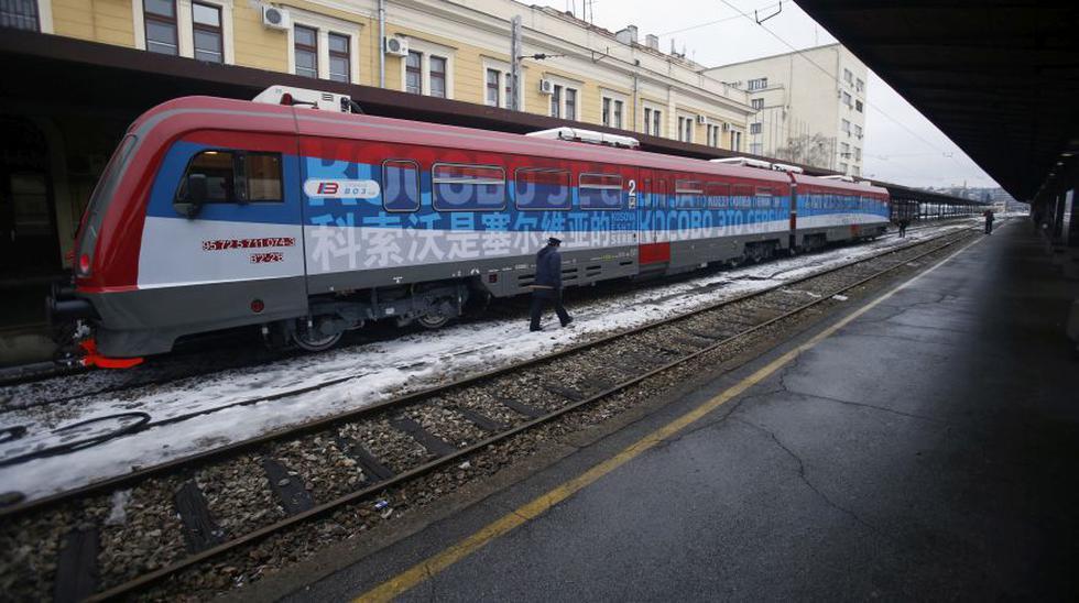 Tren cubre la ruta Belgrado-Kosovo por primera vez en 18 años - 1