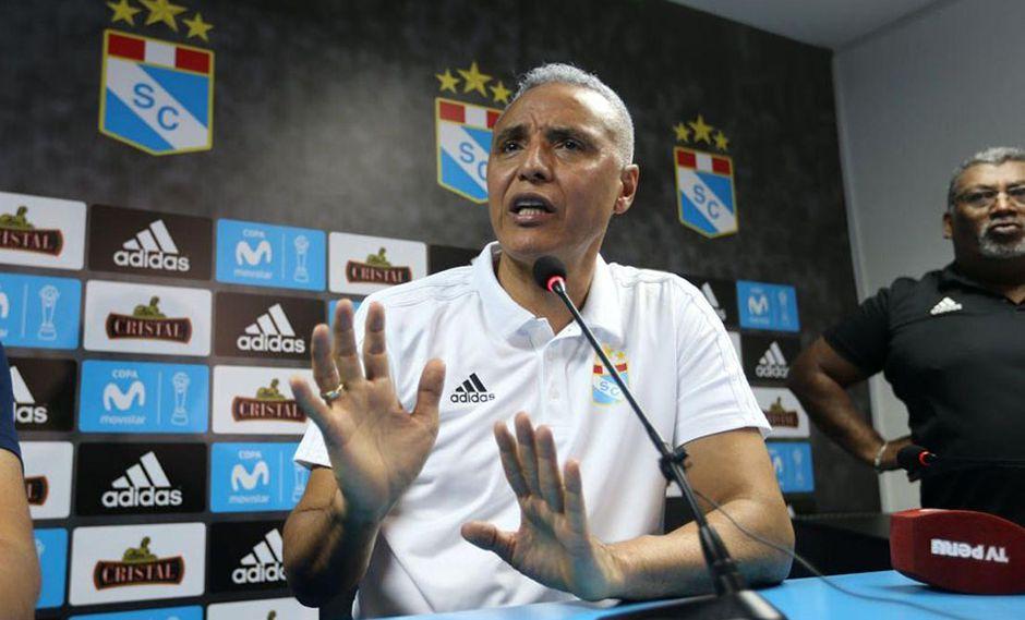 Alexis Mendoza confirma versión de Sporting Cristal, sobre su salida del club, pero dejó entrever que un grupo de jugadores no estaba contento con su trabajo. (Foto: GEC)