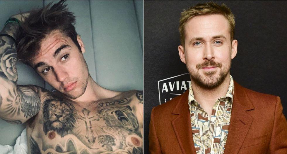 Justin Bieber demuestra su fanatismo por Ryan Gosling y le pide una nueva película. (Foto: Instagram/AFP)