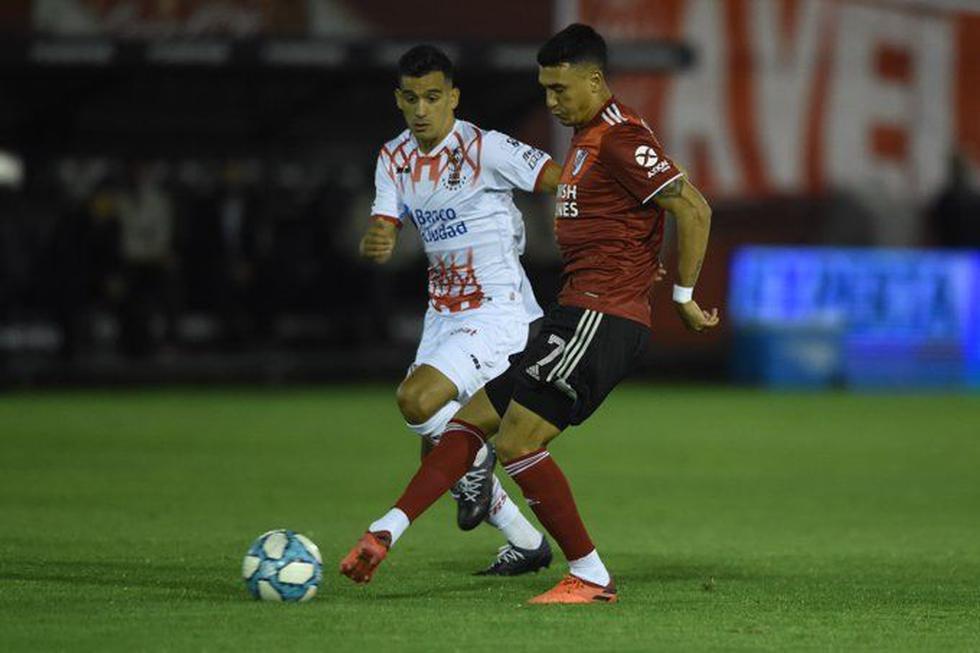 River Plate vs. Huracán (Twitter)
