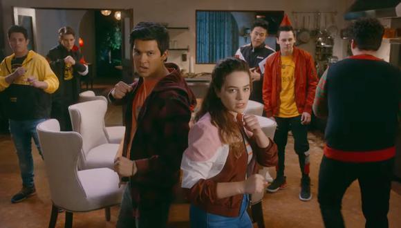 Si bien los tres dojos tienen más estudiantes, obviamente, los peleadores claves son los personajes principales de la serie de Netflix (Foto: Netflix)
