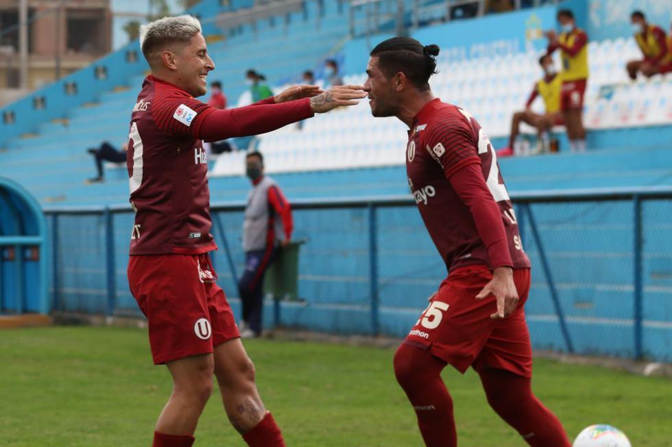 Universitario goleó a Municipal y sumó 35 puntos en la tabla de la Liga 1 del 2020. (Foto: Liga 1)