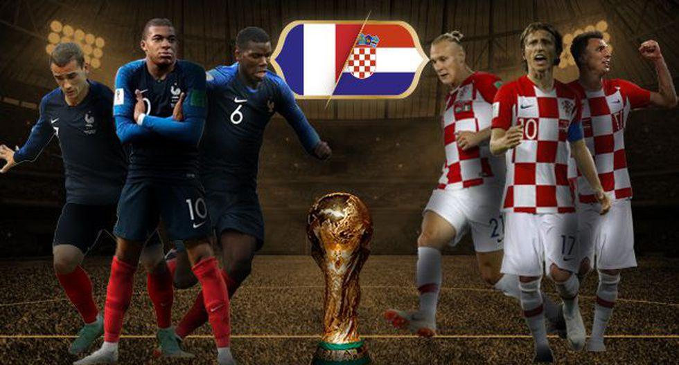 Francia parte como favorita ante Croacia por el título del Mundial Rusia 2018. Entérate cuáles son las cuotas que pagan por cada selección para el decisivo encuentro. (Foto: Radio Fórmula)