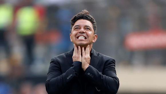 Marcelo Gallardo se estaría planteando la opción de dejar River Plate al final de la temporada. (Foto: EFE)