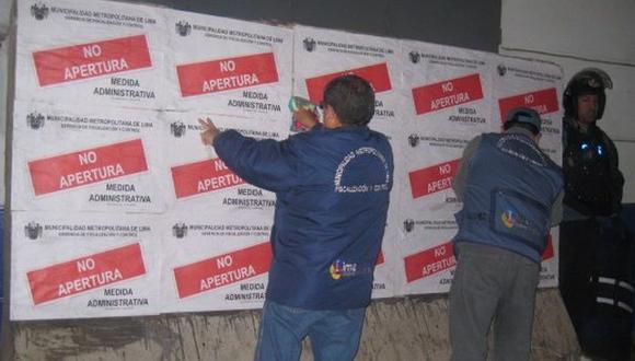 Clausuraron dos imprentas clandestinas del centro de Lima