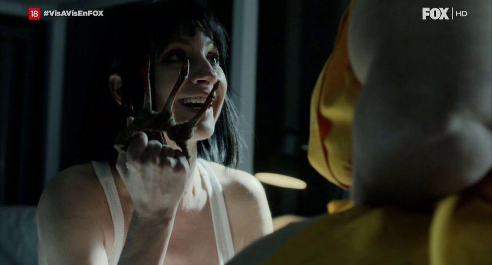 "Comentada escena de Zulema (Najwa Nimri) en tercera temporada de ""Vis a vis"". (Foto: Captura de pantalla/ Fox España)"