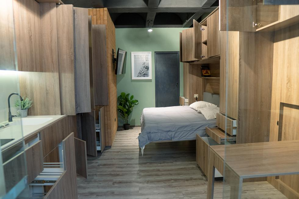 En esta galeria compartimos contigo ideas de expertos para potenciar el espacio pequeño de tu departamento. (Foto: Pocket Space)
