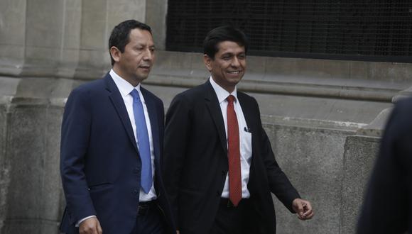 """Clemente Flores consideró que fue una """"decisión política"""" la renuncia de su excolega de bancada. (Foto: GEC)"""