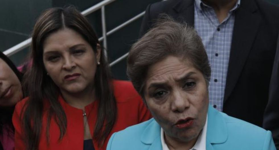 Luz Salgado Y Karina Beteta criticaron devolución de dinero a Odebrecht (Foto: GEC)