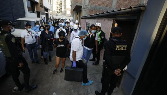 El crimen de Lucy Melgarejo Osorio habría sido perpetrado hace un mes, pero sus familiares recién reportaron su desaparición hace unos días. El principal sospechoso del crimen es el esposo de la víctima. (Foto: César Bueno - El Comercio)