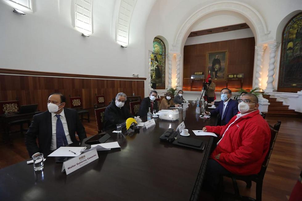 Martín Vizcarra presidió el Consejo de Estado ante otras autoridades. (Foto: Difusión)