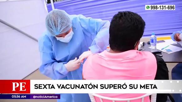 La sesta vaccinazione ha superato il suo obiettivo
